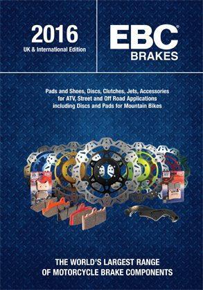 EBC Brakes motor katalógus 2016