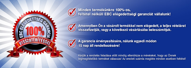 EBC 100% Garancia