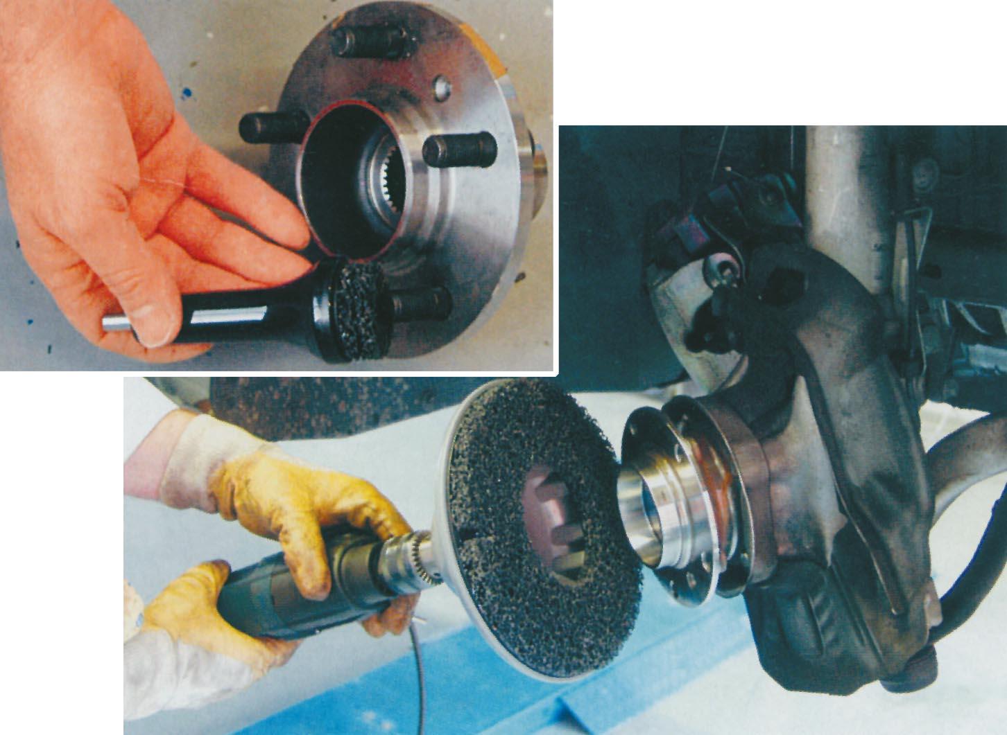 3. ábra: a Continental Teves új kerékagytisztító készlete