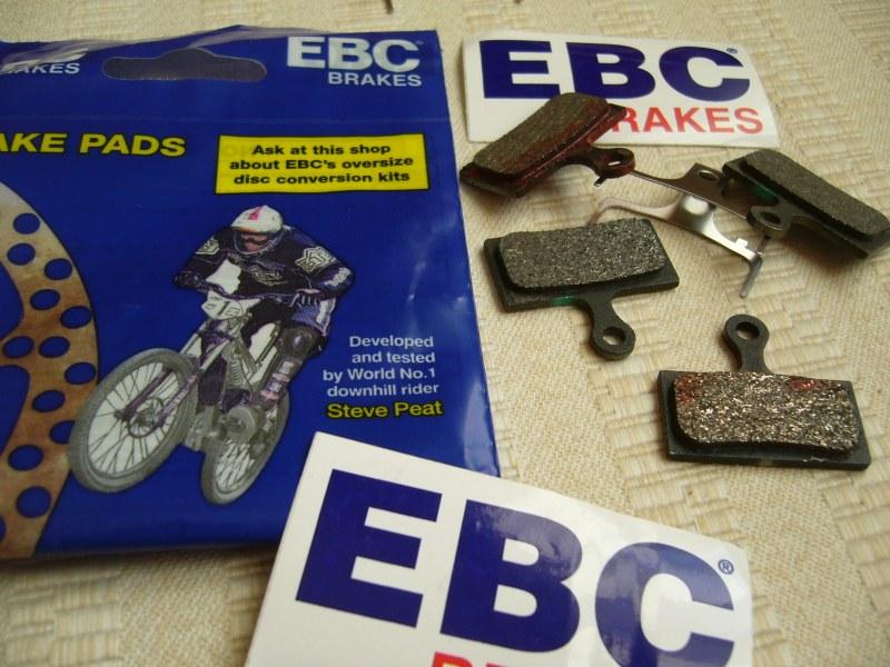 EBC kerékpár fékbetét
