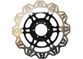 EBC Vee Rotor motor féktárcsa fekete