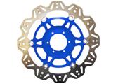 EBC Vee Rotor motor féktárcsa kék