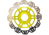 EBC Vee Rotor motor féktárcsa sárga