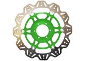 EBC Vee Rotor motor féktárcsa zöld