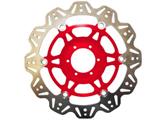 EBC Vee Rotor motor féktárcsa piros