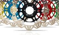 EBC Vee-Rotor színes középrésszel