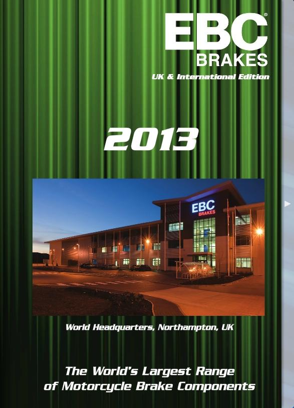 EBC Brakes 2013 motorkerékpár katalógus
