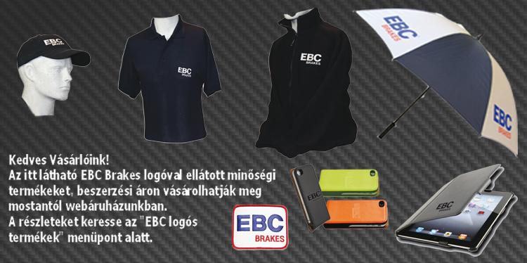 EBC Brakes promó termékek