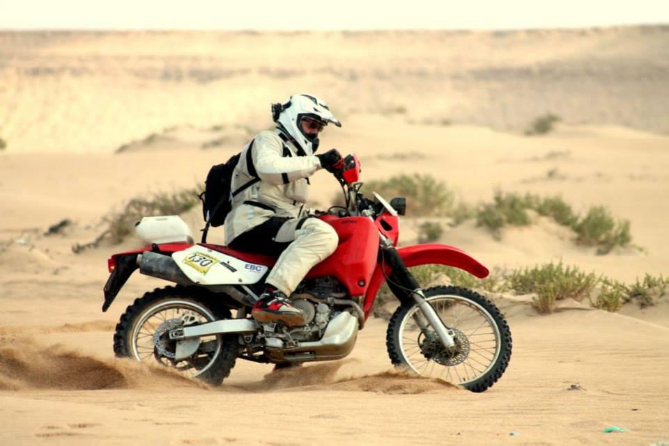 EBC fékekkel a sivatagban