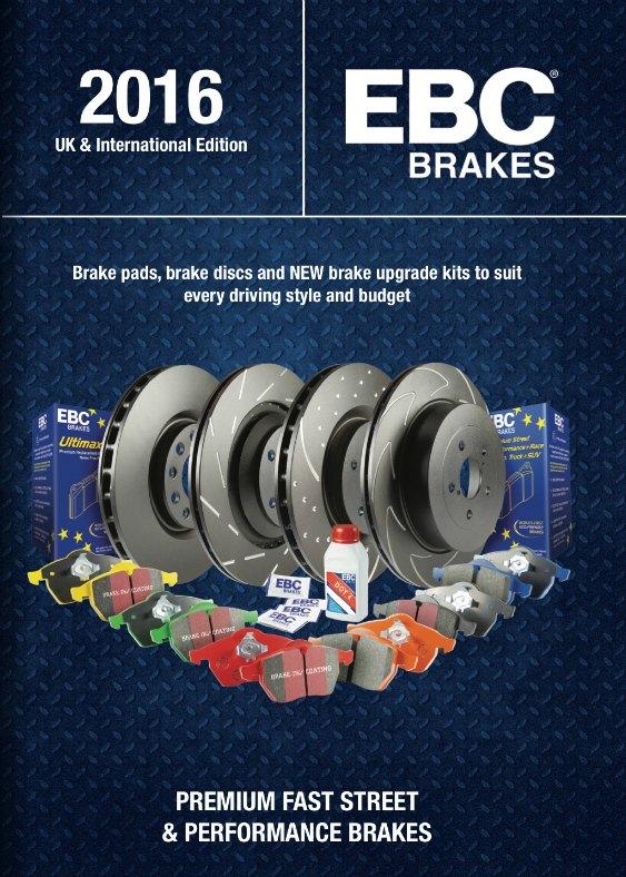 EBC Brakes autó katalógus 2016