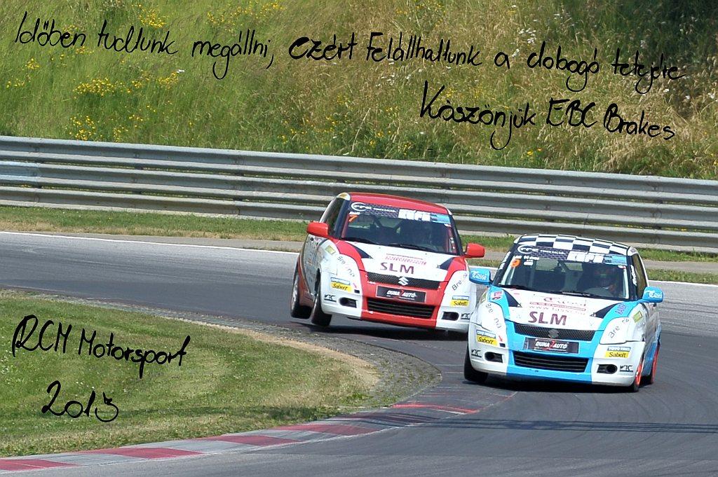 EBC Brakes RCM Motorsport